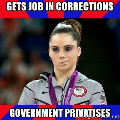 Mckayla Maroney Does Not Approve - Gets job in corrections government privatises