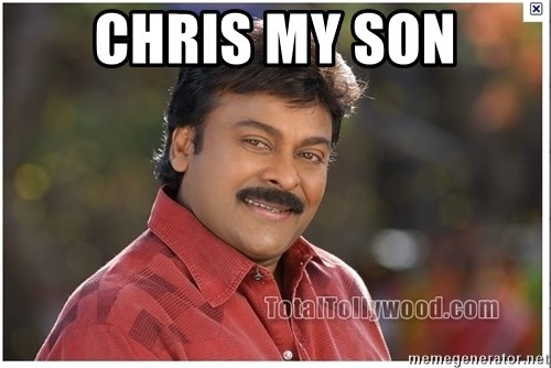 Typical Indian guy - chris my son