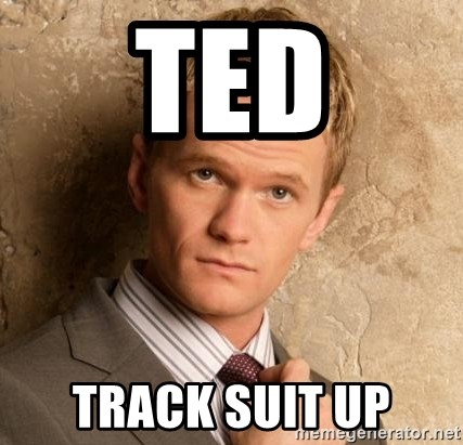BARNEYxSTINSON - Ted Track Suit Up