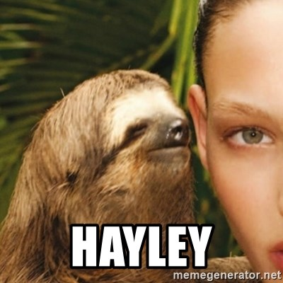 Whisper Sloth -  Hayley