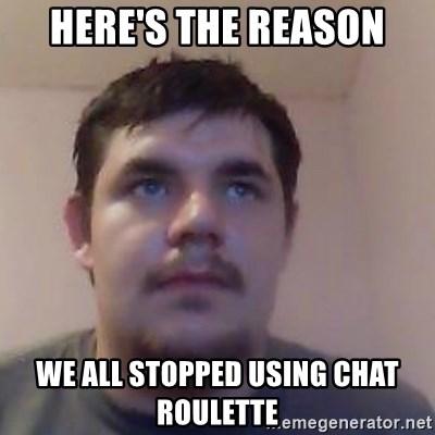Ash the brit - here's the reason we all stopped using chat roulette