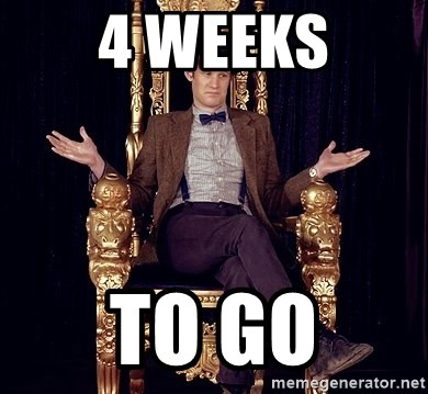 Hipster Doctor Who - 4 weeks to go