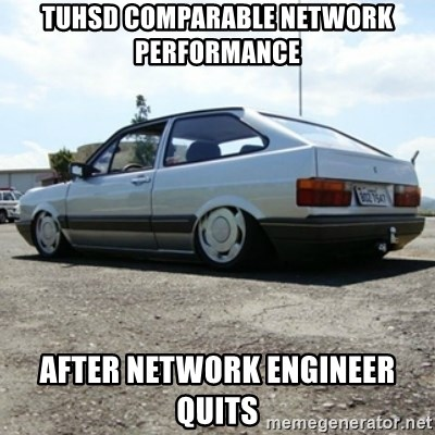 treiquilimei - tuhsd comparable network performance after network engineer quits