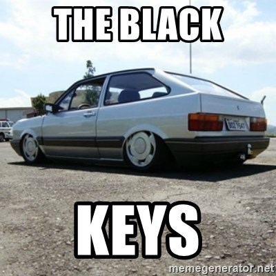 treiquilimei - THE BLACK  KEYS