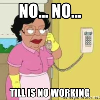 Family guy maid - no... no... till is no working
