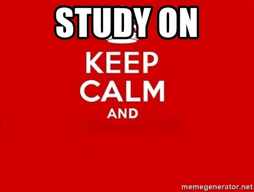 Keep Calm 2 - Study ON