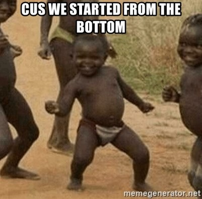 Success African Kid - CUS WE STARTED FROM THE BOTTOM