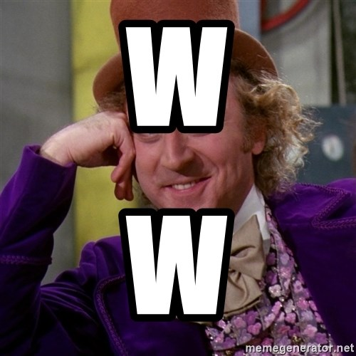 Willy Wonka - w w