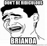 Yao Ming 5 - DOn't be ridiculous brianda