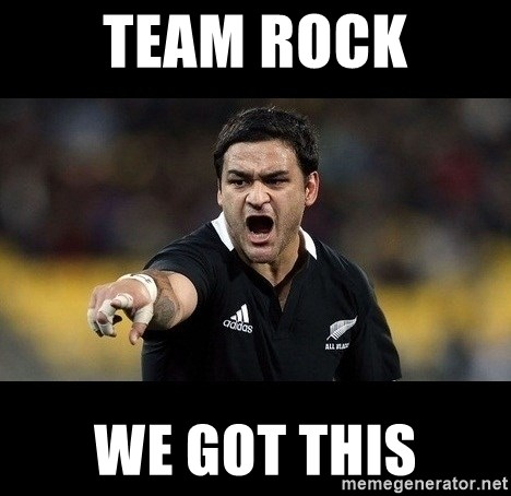 Intense Piri Weepu - TEAm ROCK WE GOT THIs