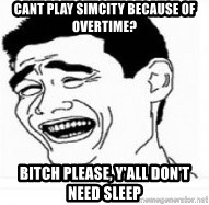 Yao Ming 5 - cant play simcity because of overtime? Bitch please, y'all don't need sleep