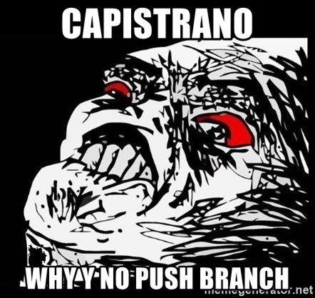 Rage Face - Capistrano why y no push branch