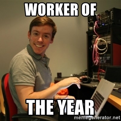 Ridiculously Photogenic Journalist - WORKER OF THE YEAR