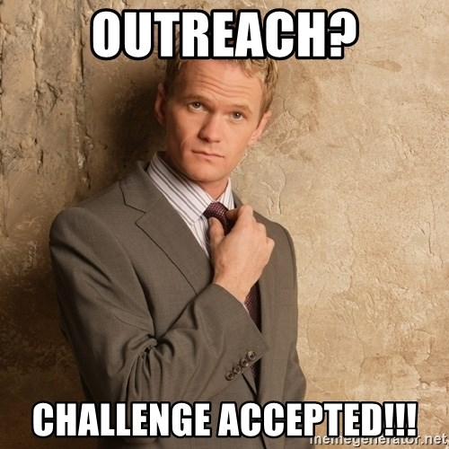 Barney Stinson - Outreach? Challenge Accepted!!!