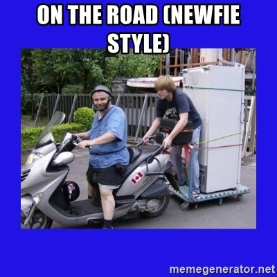 Motorfezzie - On The Road (Newfie Style)