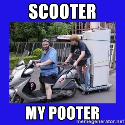 Motorfezzie - scooter my pooter