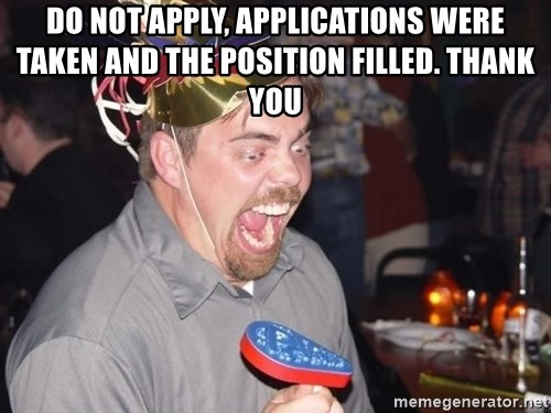 OMG it spins - DO NOT APPLY, APPLICATIONS WERE TAKEN AND THE POSITION FILLED. THANK YOU