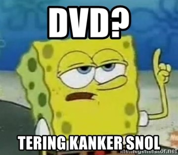 Tough Spongebob - DVD? TERING KANKER SNOL
