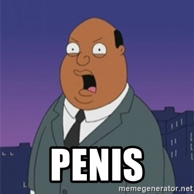 ollie williams -  PENIS