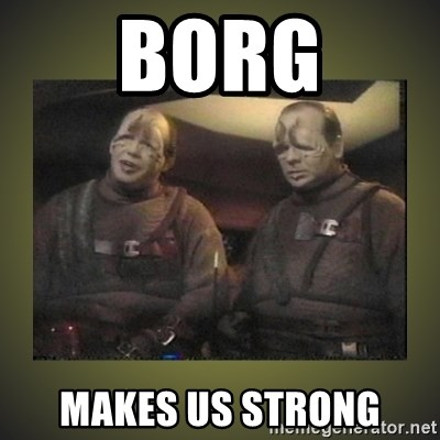 Star Trek: Pakled - BORG MAKES US STRONG