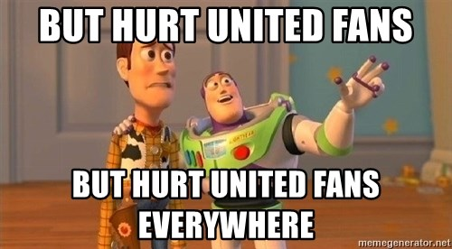 Consequences Toy Story - But HURT UNITED FANS BUT HURT UNITED FANS EVERYWHERE