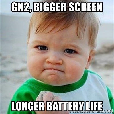 Victory Baby - GN2, bigger screen LONGER BATTERY LIFE