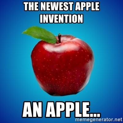 Apple de-snapple - THE NEWEST APPLE INVENTION  AN APPLE...