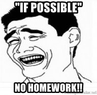 "Yao Ming 5 - ""IF POSSIBLE"" NO HOMEWORK!!"