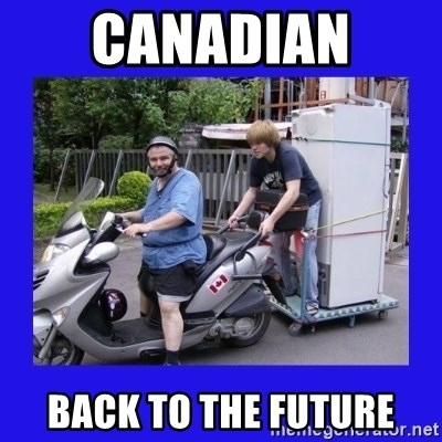 Motorfezzie - Canadian  back to the future