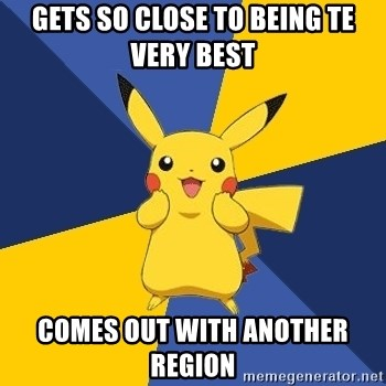 Pokemon Logic  - gets so close to being te very best comes out with another region