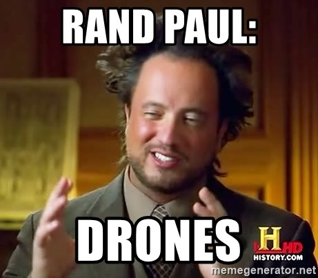 Ancient Aliens - RAND PAUL: DRONES
