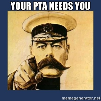 your country needs you - Your PTA Needs YOu