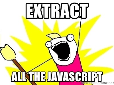 X ALL THE THINGS - extract all the javascript
