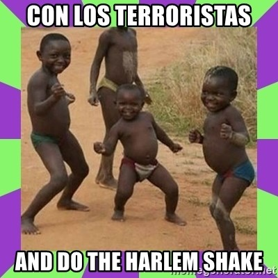 african kids dancing - CON LOS TERRORISTAS AND DO THE HARLEM SHAKE