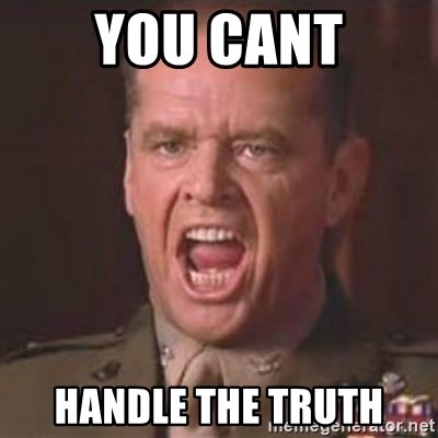 Jack Nicholson - You can't handle the truth! - You cant Handle the Truth