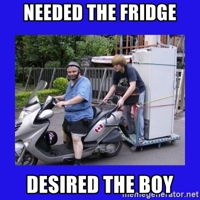 Motorfezzie - needed the fridge desired the boy