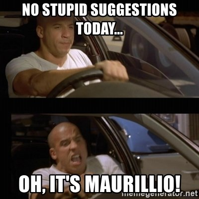 Vin Diesel Car - No stupid Suggestions today... OH, it's Maurillio!