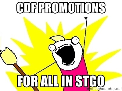 X ALL THE THINGS - CDF promotions  for all in Stgo