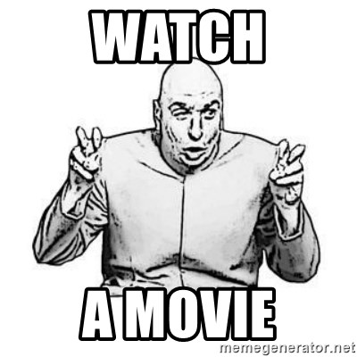 Sceptical Dr. Evil - Watch a movie
