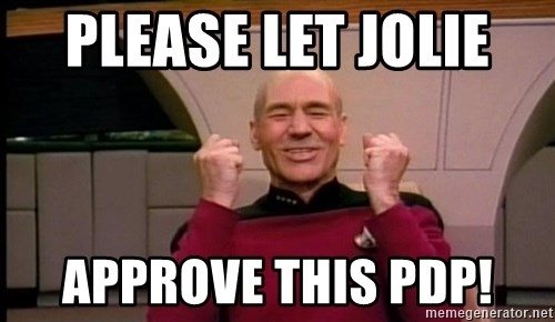 Jean Luc Picard Full of Win - No Text - PLEASE LET jolie  approve this pdp!