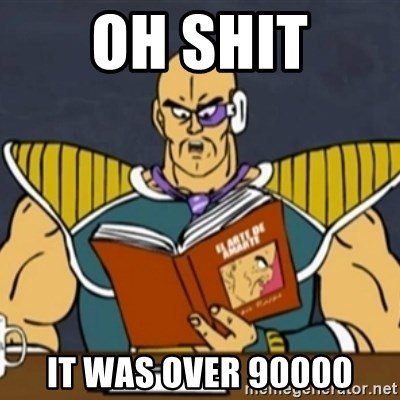 El Arte de Amarte por Nappa - OH SHIT IT WAS OVER 90000