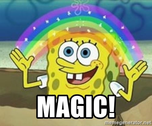 Spongebob -  Magic!