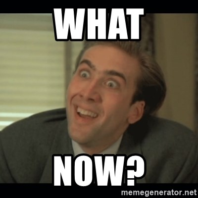 Nick Cage - what now?