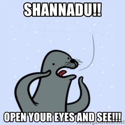 gay seal - shannadu!! open your eyes and see!!!