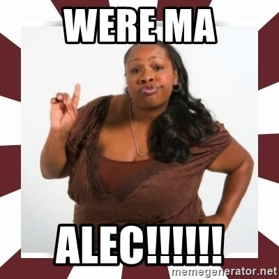 Sassy Black Woman - WERE MA ALEC!!!!!!