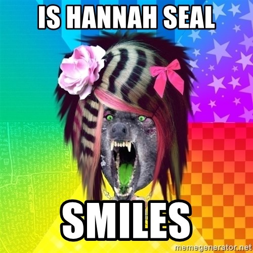 Insanity Scene Wolf - IS HANNAH SEAL SMILES