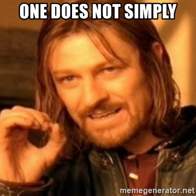 ODN - ONE DOES NOT SIMPLY