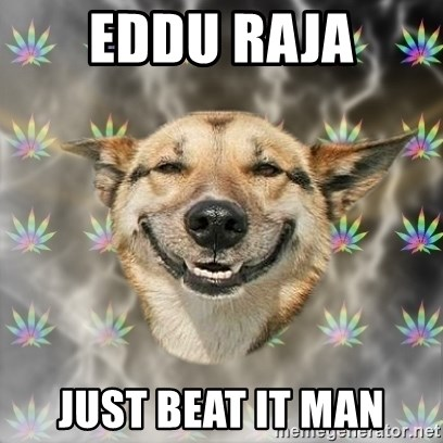 Stoner Dog - eddu raja just beat it man