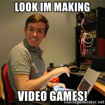 Ridiculously Photogenic Journalist - LOOK IM MAKING  VIDEO GAMES!