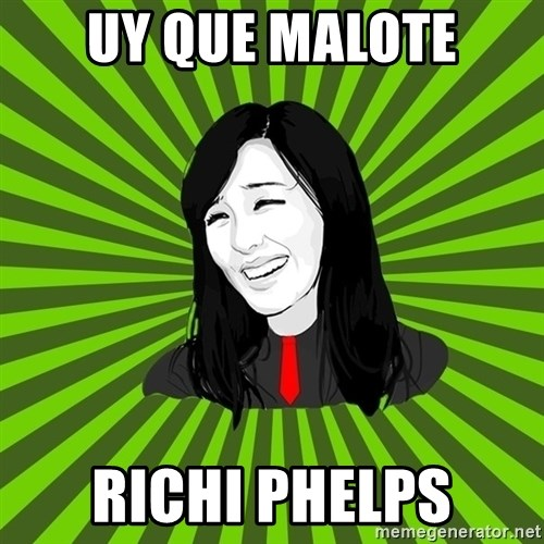 green fan - UY QUE MALOTE RICHI PHELPS